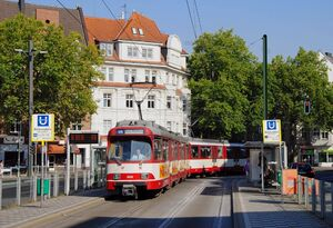 Belsenplatz lijnU75 GT8SU