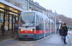 ULF B Lijn 1 Wenen Schwedenplatz