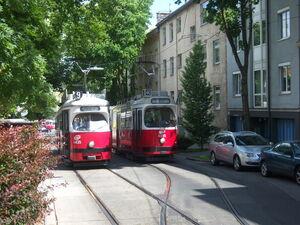 Gersthof Wallrißstraße Lijn9 40 E1 E2