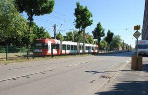 Grenadierstraße lijn4 MGT