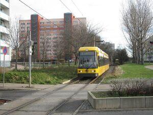 Radebeuler Straße lijn4 NGT6DD