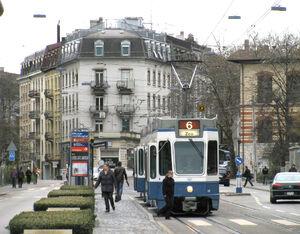 ETH lijn6 Tram2000