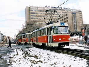 Husinecká lijn9 T3M
