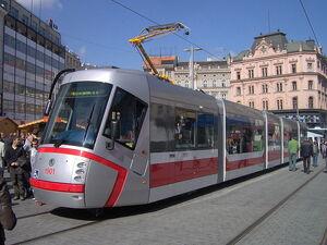 Tram 13T Brno