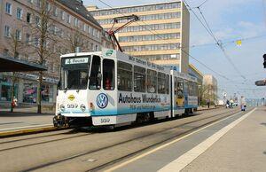 Am Albertplatz lijn4 KT4D