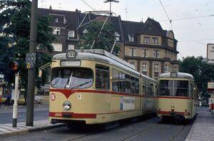 Belsenplatz lijn705 GT8