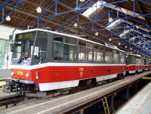 Vozovna Žižkov T6A5