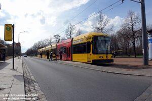 Nürnberger Platz lijn3 NGT8DD