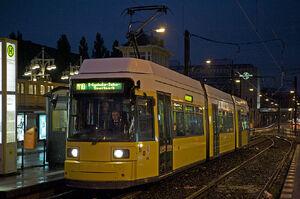 S-U Warschauer Straße lijnM10 GT6N