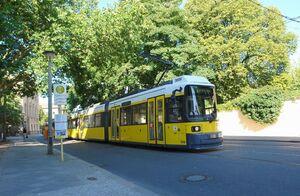 Am Kupfergraben lijnM1 GT6N