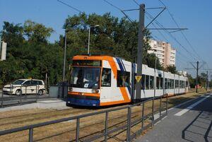 Hochuferstraße lijn4 MGT8