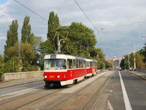 Libeňský most lijn25 T3SUCS