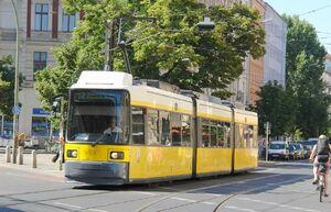 Eberswalder Straße lijn12 GT6N
