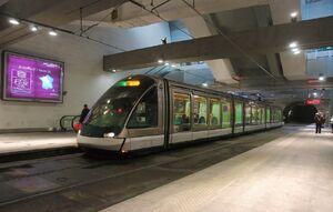 Gare Centrale lijnD Eurotram