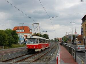 Malý Břevnov lijn22 T3SU