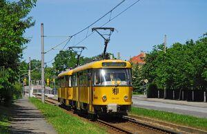 Moritzburger Weg lijn8 T4D