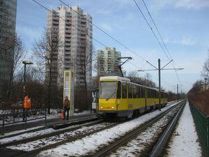 Ahrenshooper Straße lijnM4 KT4D