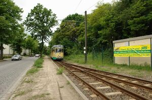 Rüdersdorf Busbahnhof lijn88 GT6