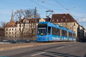 Tram-munich-2217-reichenbachbruecke