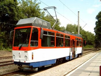 Bahnhof Strausberg lijn89 T6C5