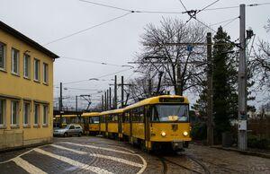 Betriebshof Trachenberge lijn3 T4D