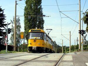 Gerhart-Hauptmann-Straße lijn4 T4D