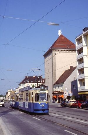 Hofmannstraße lijn16 M5