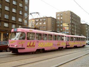Kubánské náměstí lijn19 T3M
