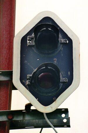 SNCV Signal lumineux à deux feux