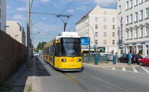 Schwarzkopffstraße lijnM6 GT6N