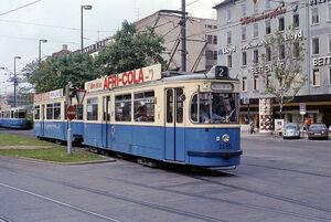 Karlsplatz lijn2 M4
