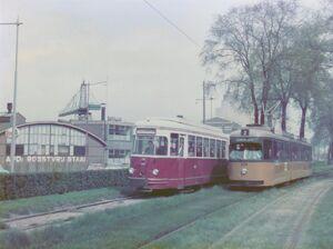 Brielselaan lijn2 RTM GT8