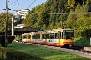 Bad Herrenalb lijnS1 GT8-80C