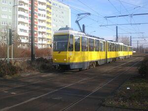 Allee der Kosmonauten Poelchaustraße lijnM8 KT4D