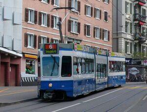 Haldenegg lijn6 Tram2000
