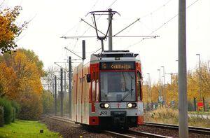 Merseburg Hohendorfer Marke lijn5 MGT6D
