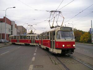 Vozovna Motol lijn10 T3R.P