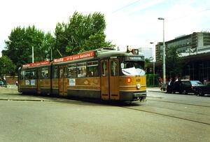 Duwag GT6 Lijn 9 Rotterdam