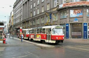 Václavské náměstí lijn24 T3RP