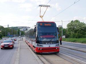 Teplárna Michle lijn11 15T