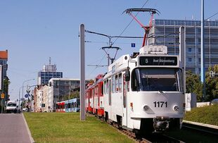 Magdeburger Straße lijn5 T4D