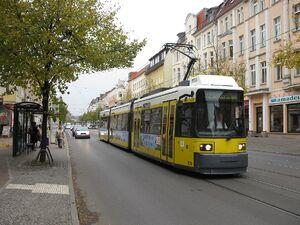 Bahnhofstraße Seelenbinderstraße lijn62 GT6N