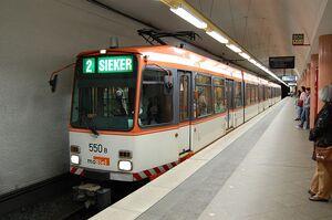 Jahnplatz lijn2 M