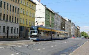 Möckern Historischer Straßenbahnhof lijn11 NGT12