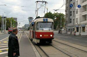 Olšanské náměstí lijn5 T3M