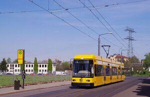 Oederaner Straße lijn12 NGT6DD