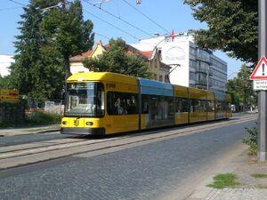 Pohlandplatz lijn10 NGT8DD