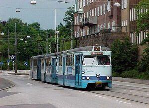 Sahlgrenska Huvudentré lijn7 M29