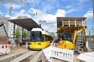 Hauptbahnhof lijnM1 GT6N