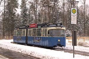 Großhesseloher Brücke lijn15 P316